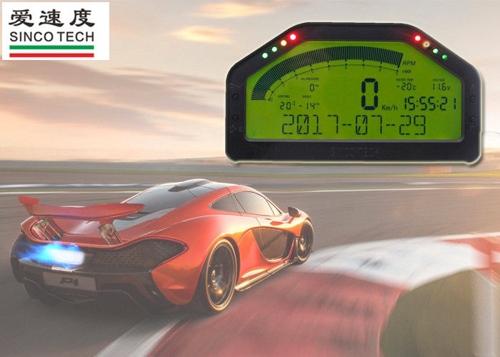 Green Backlight Race Car Gauges Digital Sensor LCD Dash 12V Universal DO904