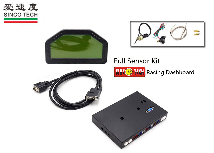 SINCO TECH Digital Boost Gauge PSI - BAR Unit Turbo Sensor Kit DO908