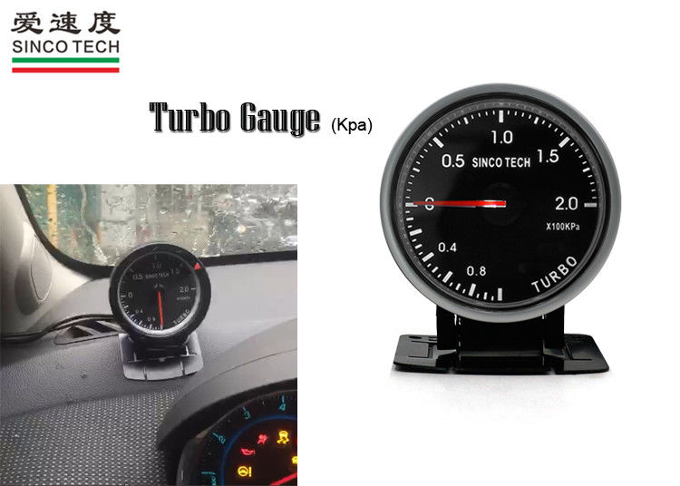12v Turbo Boost Gauge 2.5 '' Digital Display DO 6351 High Performance